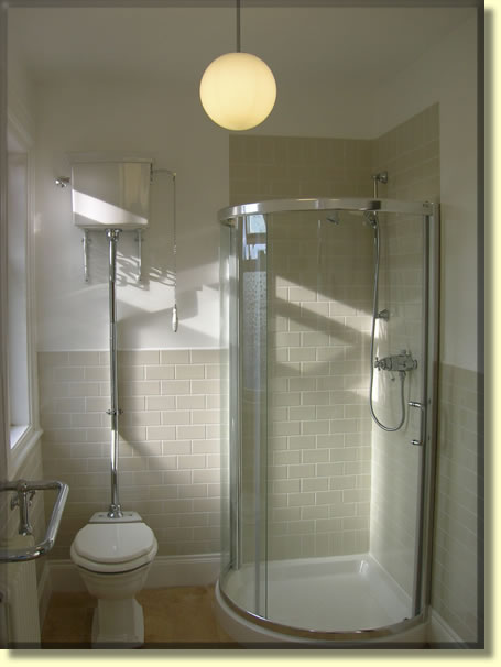 Completed Traditional Bathroom Installation In Belfast