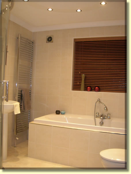 Completed Bathroom installation and design fitted in Belfast Northern  Ireland. Finished Bathroom design installation in Belfast