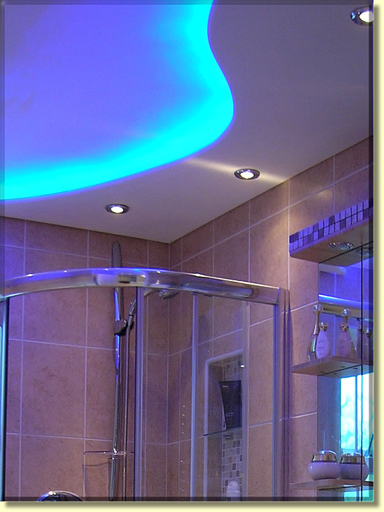 Lighting bathroom ceiling lights illuminated bathroom mirrors